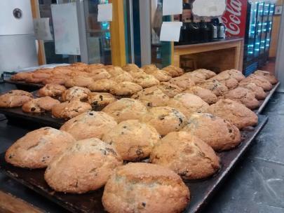Bridge Cafe | Assorted muffins