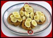 Red Arrow Diner - Peanut Butter Banana Waffles