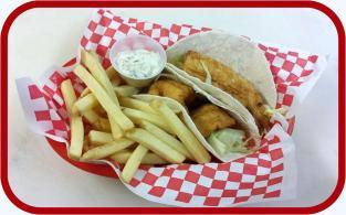 Red Arrow | Fish Tacos