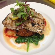 Hooked | Zahtar grilled swordfish
