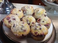 Loafin' Life | Cranberry orange muffins