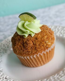 QC Cupcakes | Key Lime Cupcake
