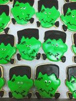 Finesse | Frankenstein sugar cookies