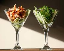 Mint Bistro | Seaweed and Squid Salads