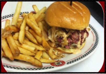 Red Arrow Diner | Reuben Burger