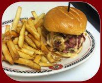 Red Arrow Diner   Reuben Burger