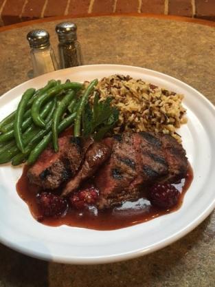 Waterworks Cafe   Grilled Flat Iron Steak
