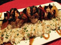 Bayona | Teriyaki Chicken Kabobs