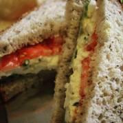 A&E Coffee and Tea   Egg Salad Sandwich