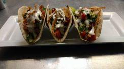 The Pint   cajun chicken tacos