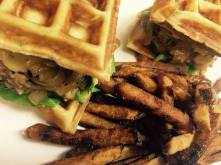 The Birch on Elm - Chicken and Waffle