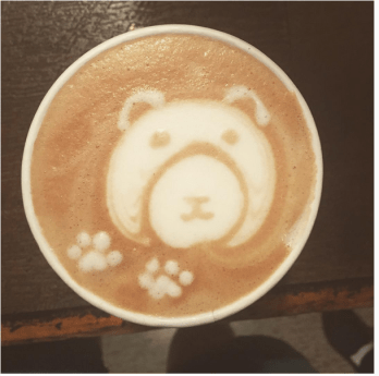 Cafe La Reine | latte art