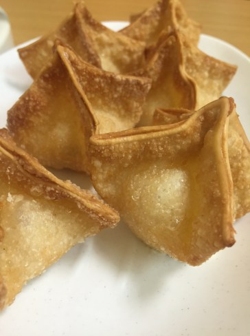 Golden Bowl | Crab rangoon