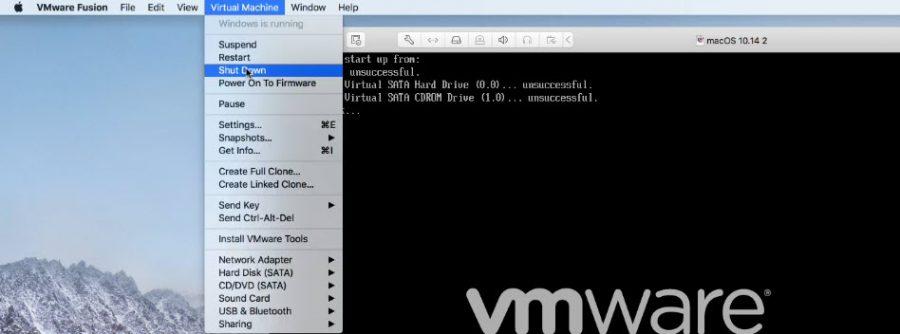 Install macOS 10.15 Catalina on VMware Fusion