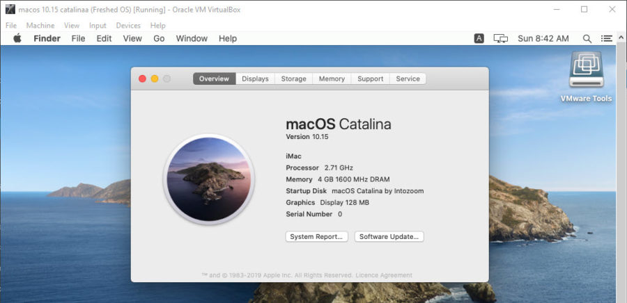 Install macOS Catalina with ISO
