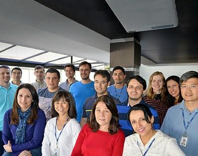 Equipe de desenvolvimento do Serpro na regional Curitiba