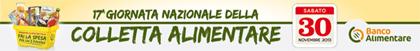 Banner Colletta Alimentare 2013 - vai al sito  www.bancoalimentare.it