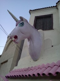 Just the usual, wacky stuff you spot when exploring L.A. on foot.