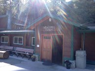 This restaurant has been here since 1939. Elevation 5500'