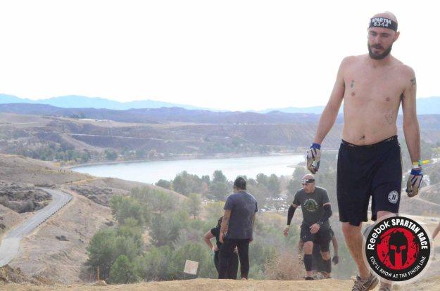 Spartan Sprint, hilltop