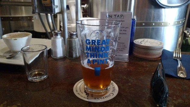Anacapa Brewing Company pint glass