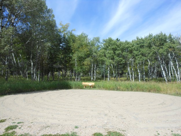 Labyrinth at Pathways Spiritual Sanctuary