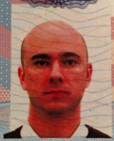 32 year old me, passport photo