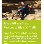 Take a Hike: My First Post on QC Outside