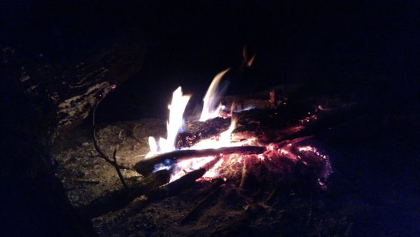 Campfire at Camp Intrepid
