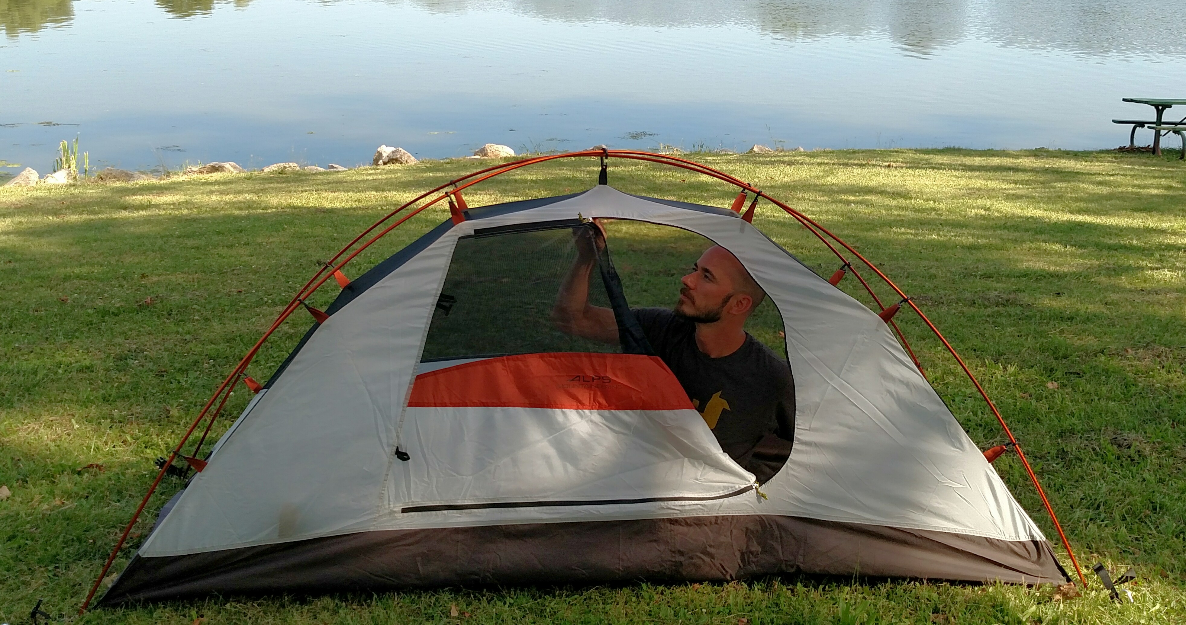 Alps Mountaineering Lynx 1 Backpacking Tent for the Great River Trail Trash Trek & Great River Trail Trash Trek: All Geared Up!