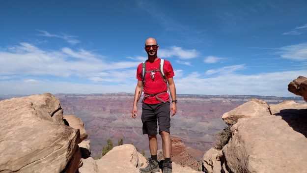 The South Kaibab Trail.