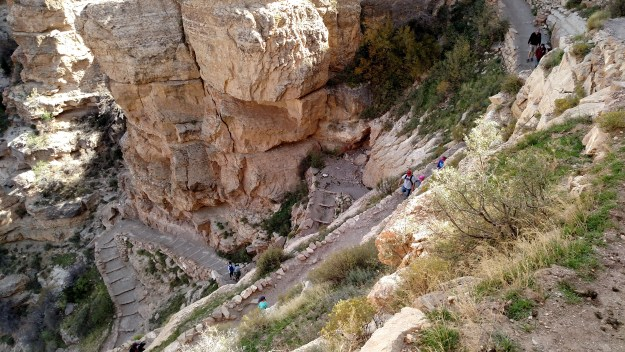 Switchbacks on the South Kaibab Trail