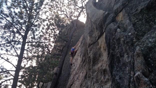 Climbing Bolts for Bob.