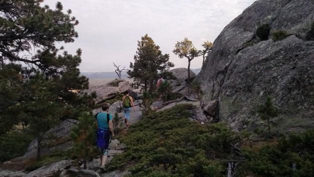 Exploring Old Baldy Mountain