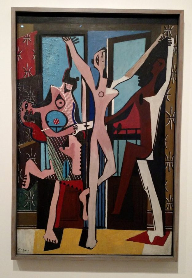 """Picasso's """"The Three Dancers."""""""