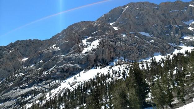 Descending Mount Whitney Trail