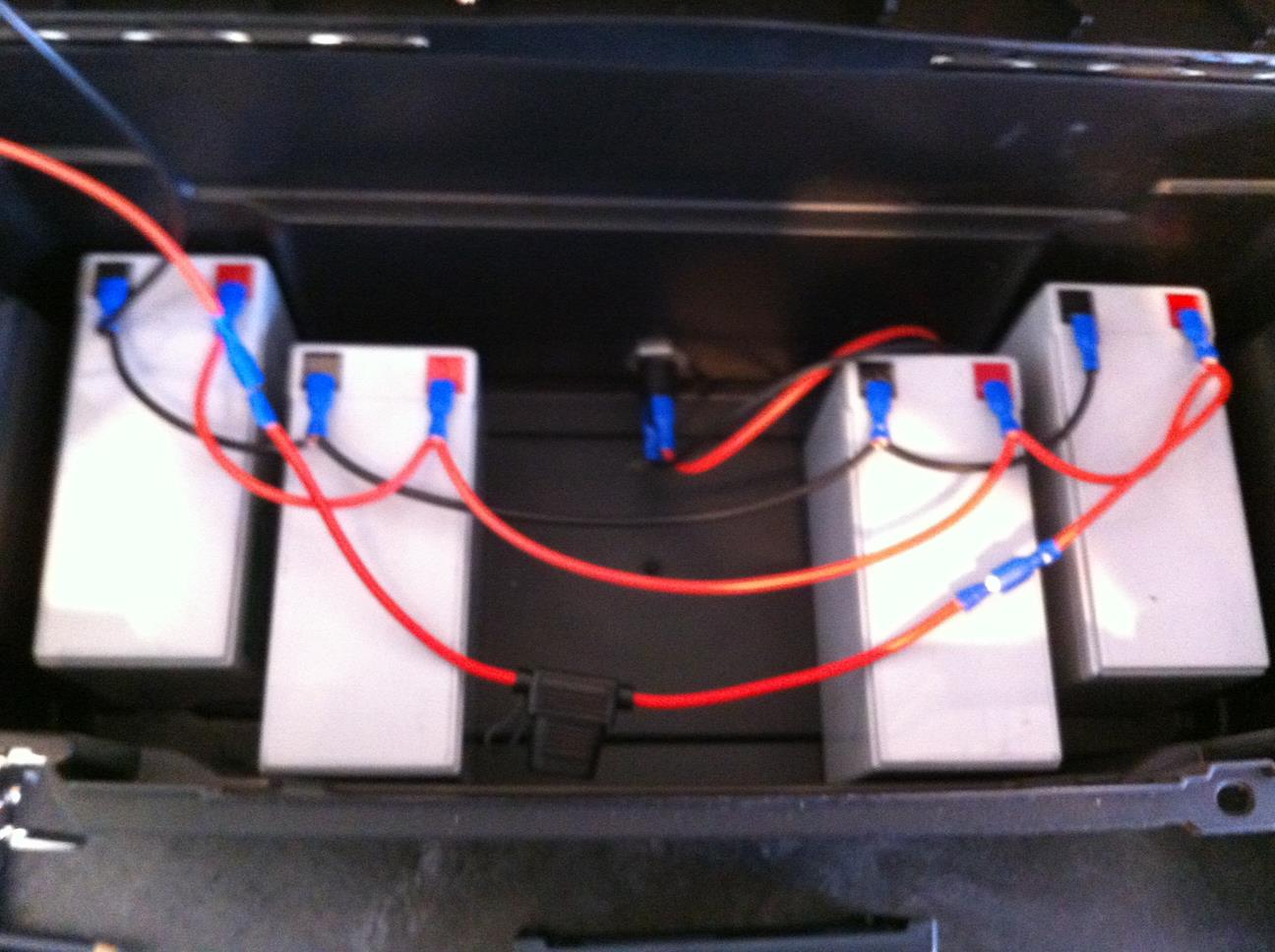 Diy Portable Solar Power Generator Also Panel Charge Controller Wiring Batteries Wired In Parallel