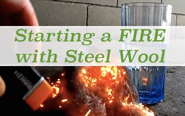 starting-a-fire-with-steel-wool