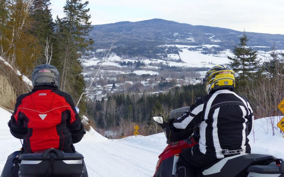 Quebec World Class Hospitality Snowmobiling