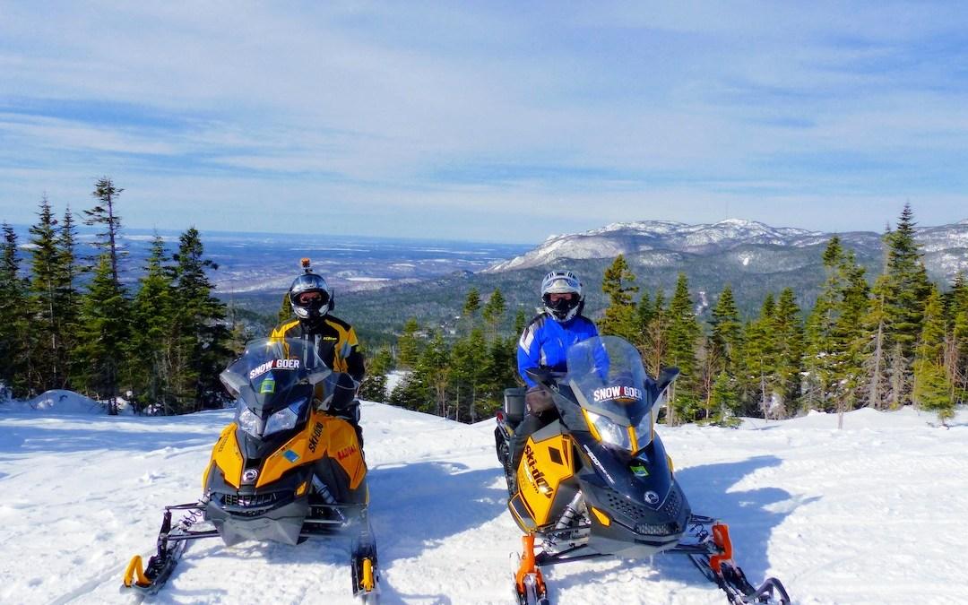 Go Snowmobile Saguenay Lac St Jean Quebec