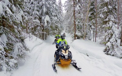 Sundridge Ontario Snowmobile Ride Planner