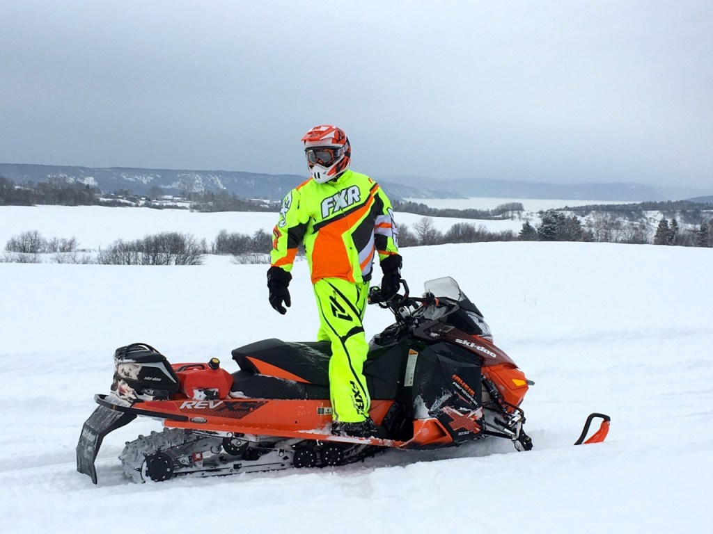 go bright to reduce snowmobiling risks
