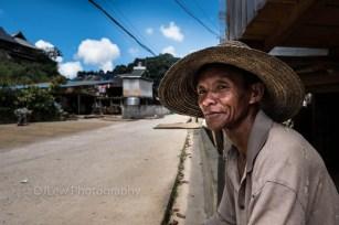 Ahka man 57 yrs old, rice farmer