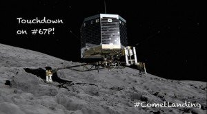 модуль «Philae» находится на участке кометы называемом «Агилика»
