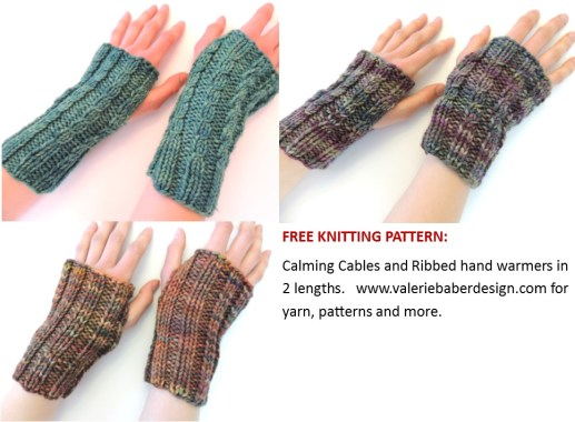 calming cables hand warmers ad pic