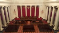 Model of the Supreme Court chamber.