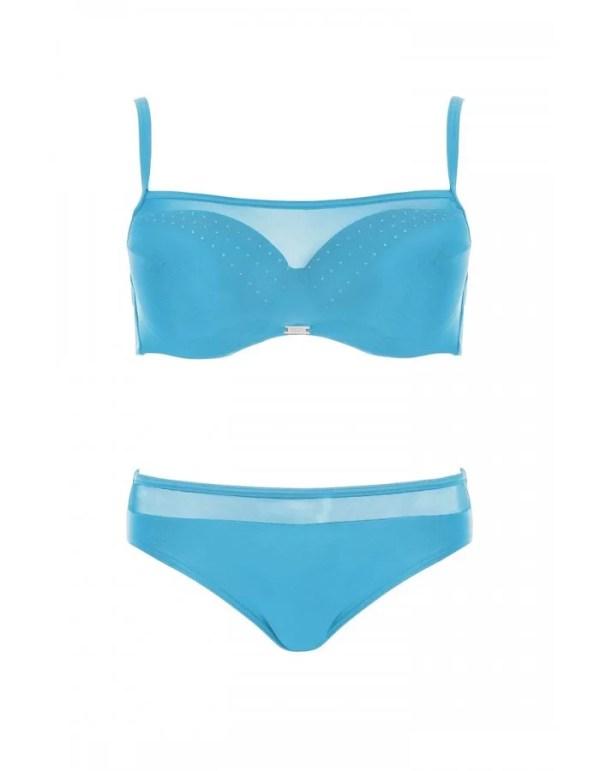 голубий роздільний купальник картинка