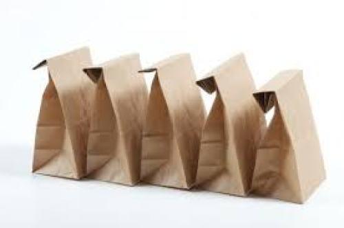 Mẫu túi giấy vuông đẹp