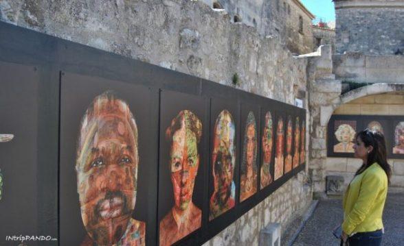 mostra a Les Baux de Provence