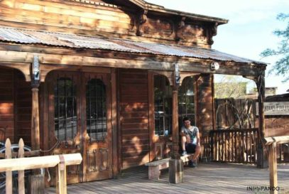 Ghost town Calico in California